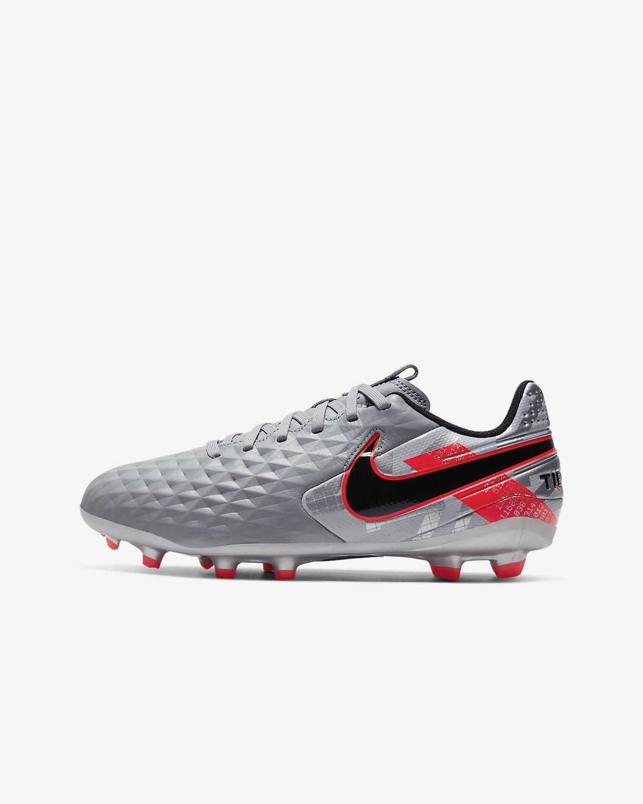 Nike Jr. Tiempo Legend 8 Academy MG Botas de fútbol multisuperficie - Niño/a y niño/a pequeño/a