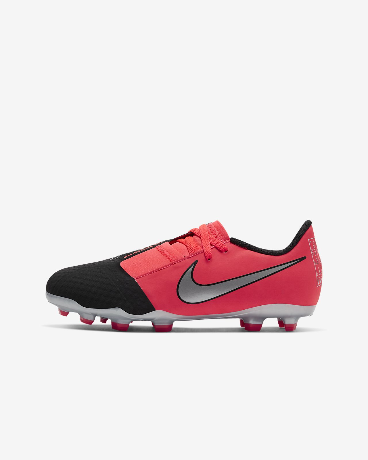 Nike Jr. Phantom Venom Academy FG fotballsko for gress til store barn