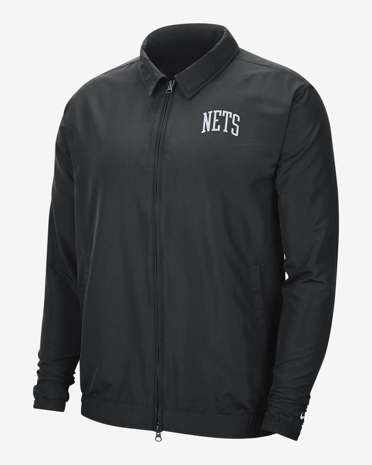 Chamarra ligera de Nike NBA para hombre Brooklyn Nets