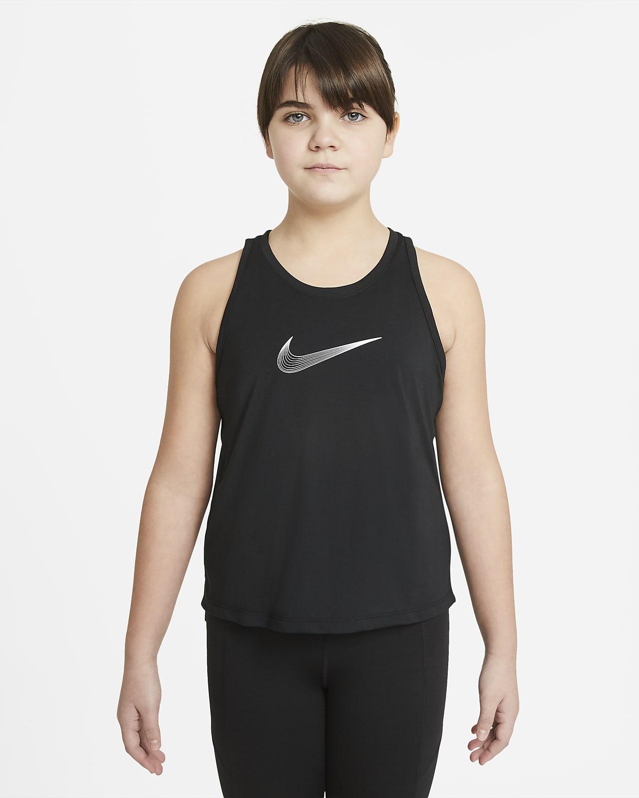 Nike Dri-FIT Trophy Older Kids' (Girls') Training Tank (Extended Size)