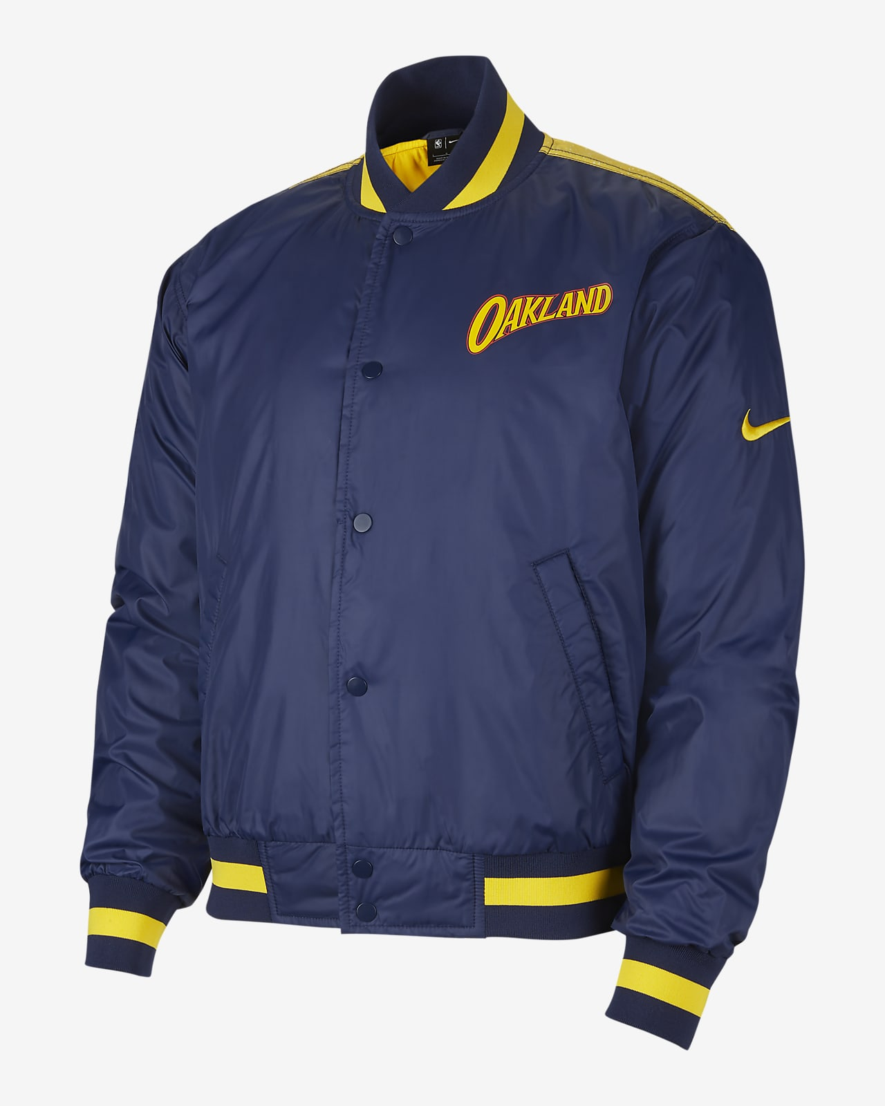 Giacca Golden State Warriors City Edition Courtside Nike NBA - Uomo