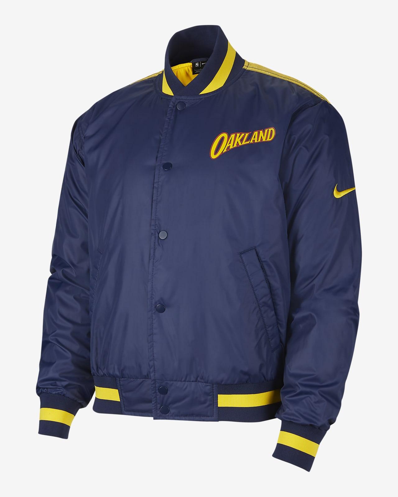 Golden State Warriors City Edition Courtside Men's Nike NBA Jacket