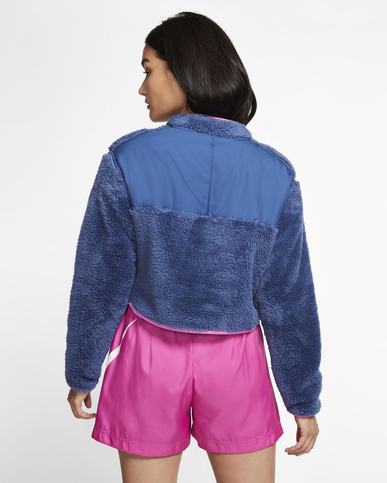 nike 1/4 zip fleece womens