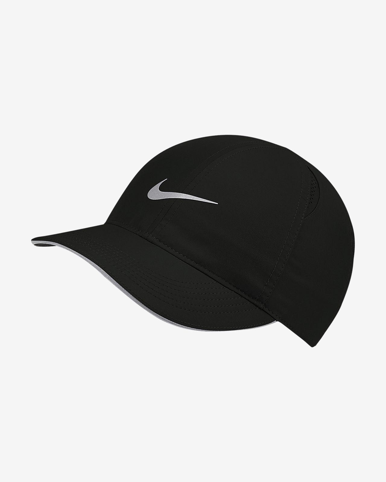 Gorra de running para mujer Nike Featherlight