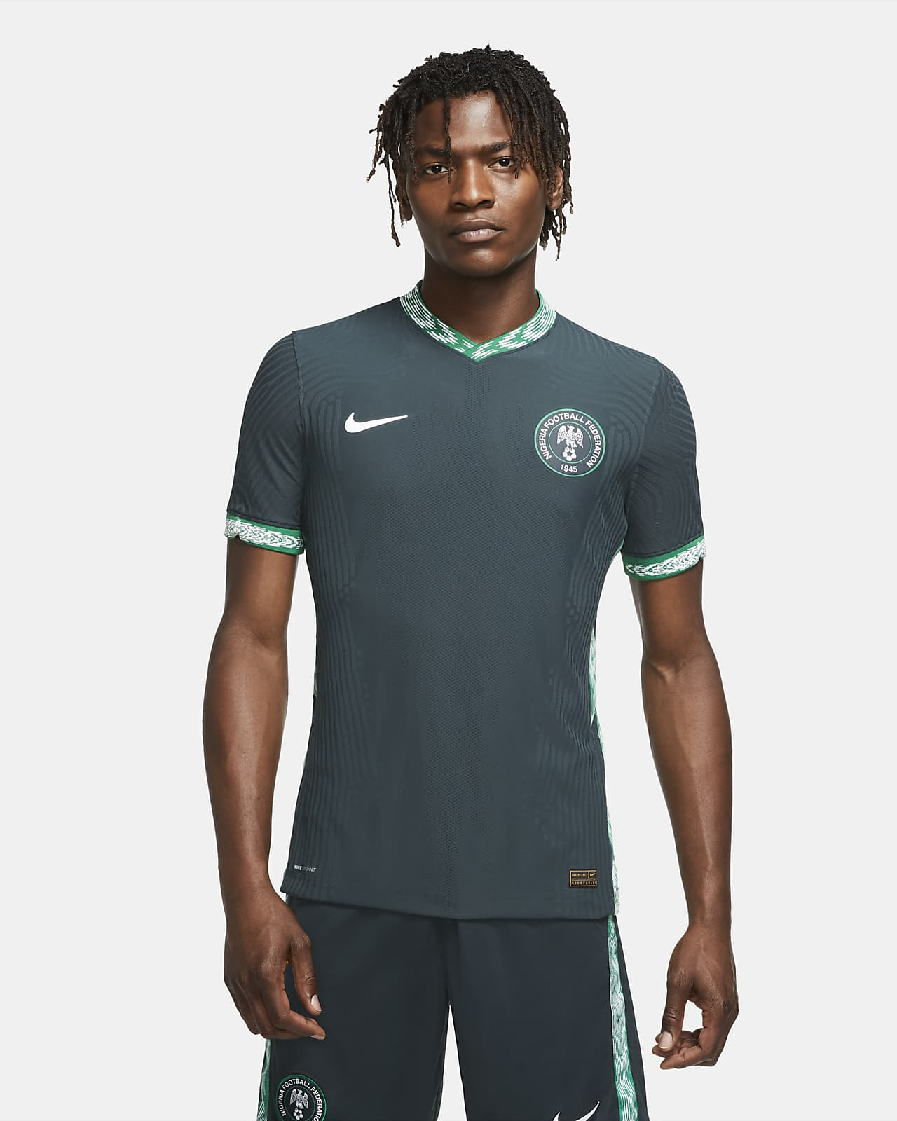 Nigeria 2020 Vapor Match Away Herren-Fußballtrikot
