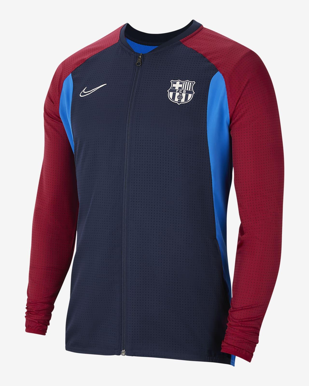 Chamarra de fútbol para hombre FC Barcelona Academy