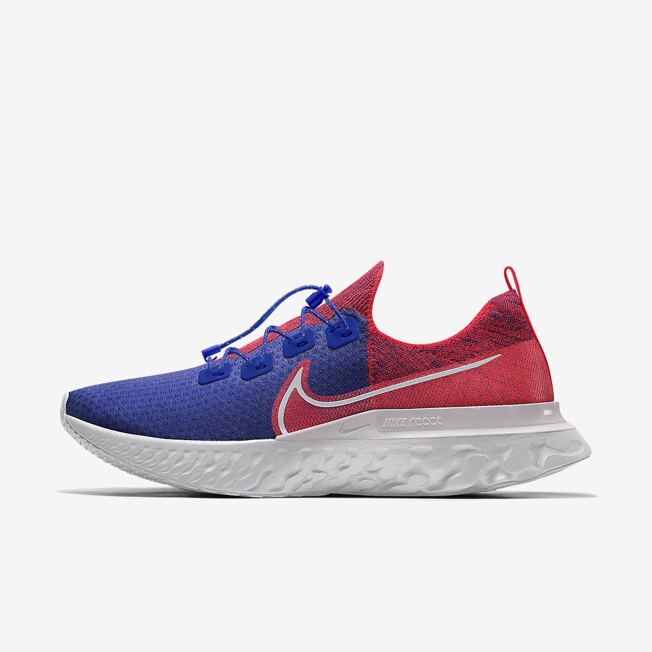 Nike React Infinity Run Flyknit By You 专属定制女子跑步鞋