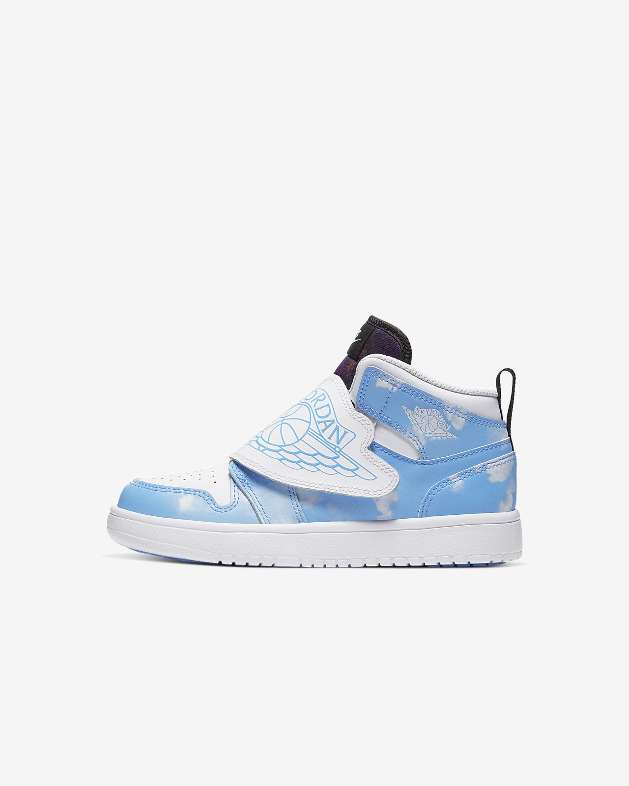 Sky Jordan 1 Fearless Little Kids' Shoe