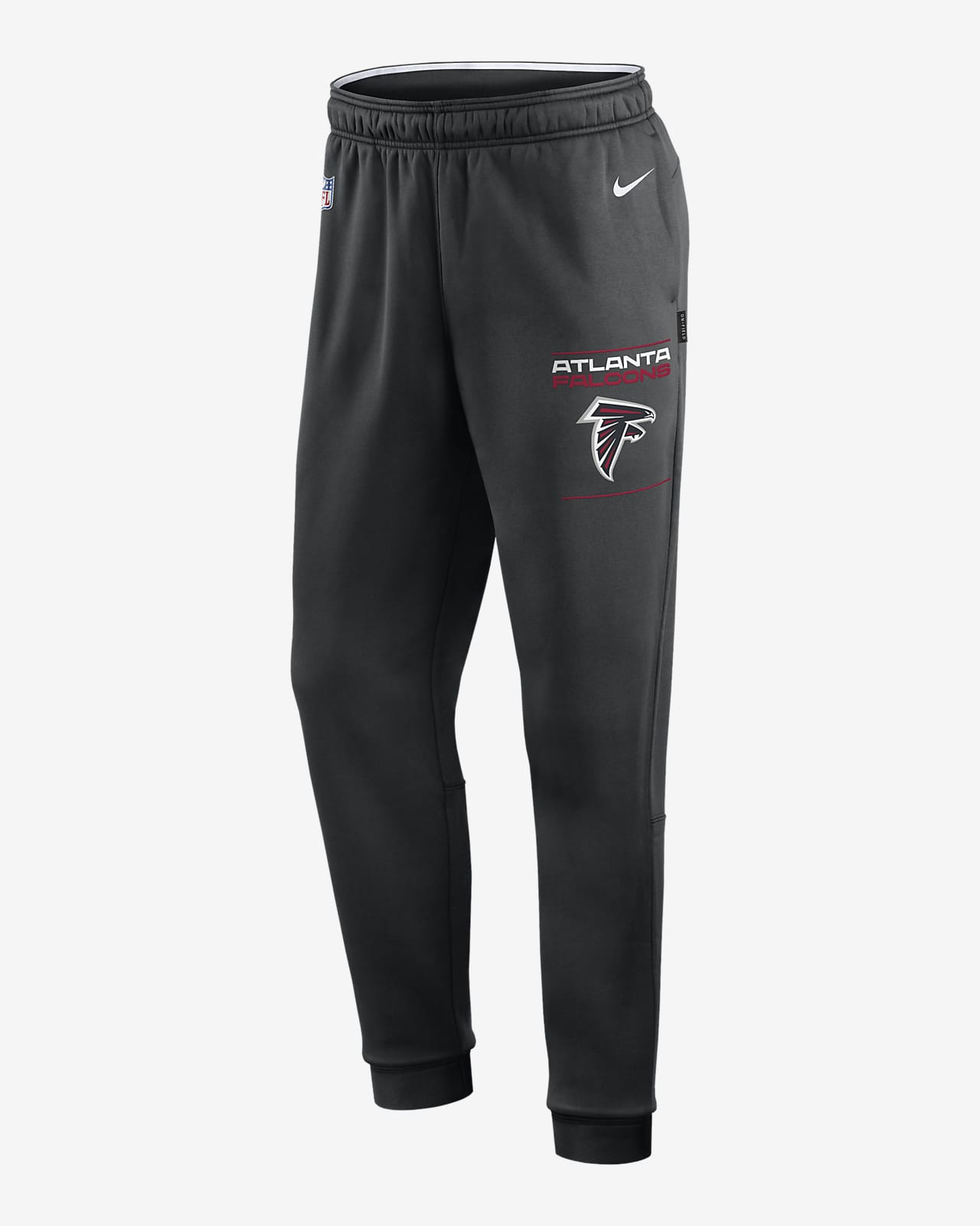 Pants para hombre Nike Therma Sideline (NFL Atlanta Falcons)