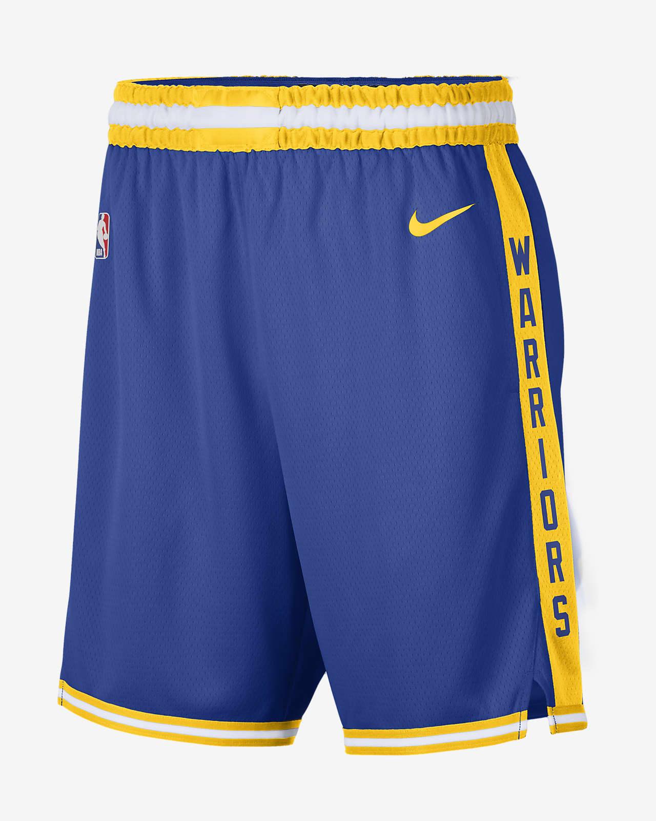 Golden State Warriors Classic Edition 2020 Men's Nike NBA Swingman Shorts