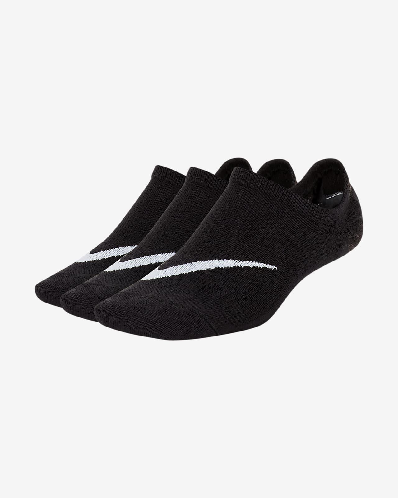 Nike Everyday Hafif Çocuk Babet Çorapları (3 Çift)