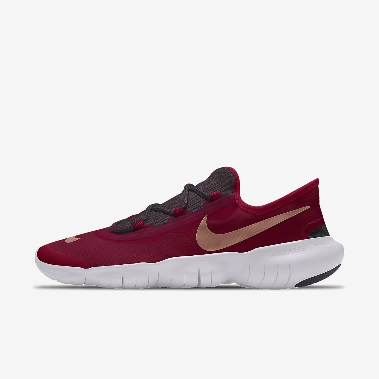 Nike Free RN 5.0 By You Custom 男子跑步鞋