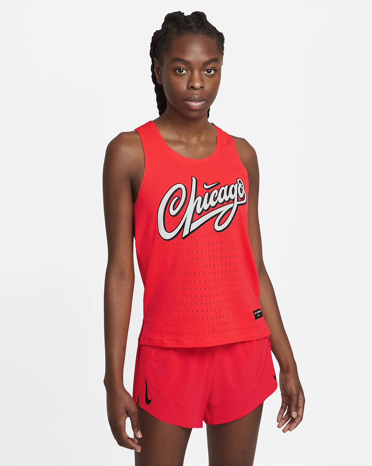 Camistea sin mangas de running para mujer Nike Dri-FIT ADV AeroSwift