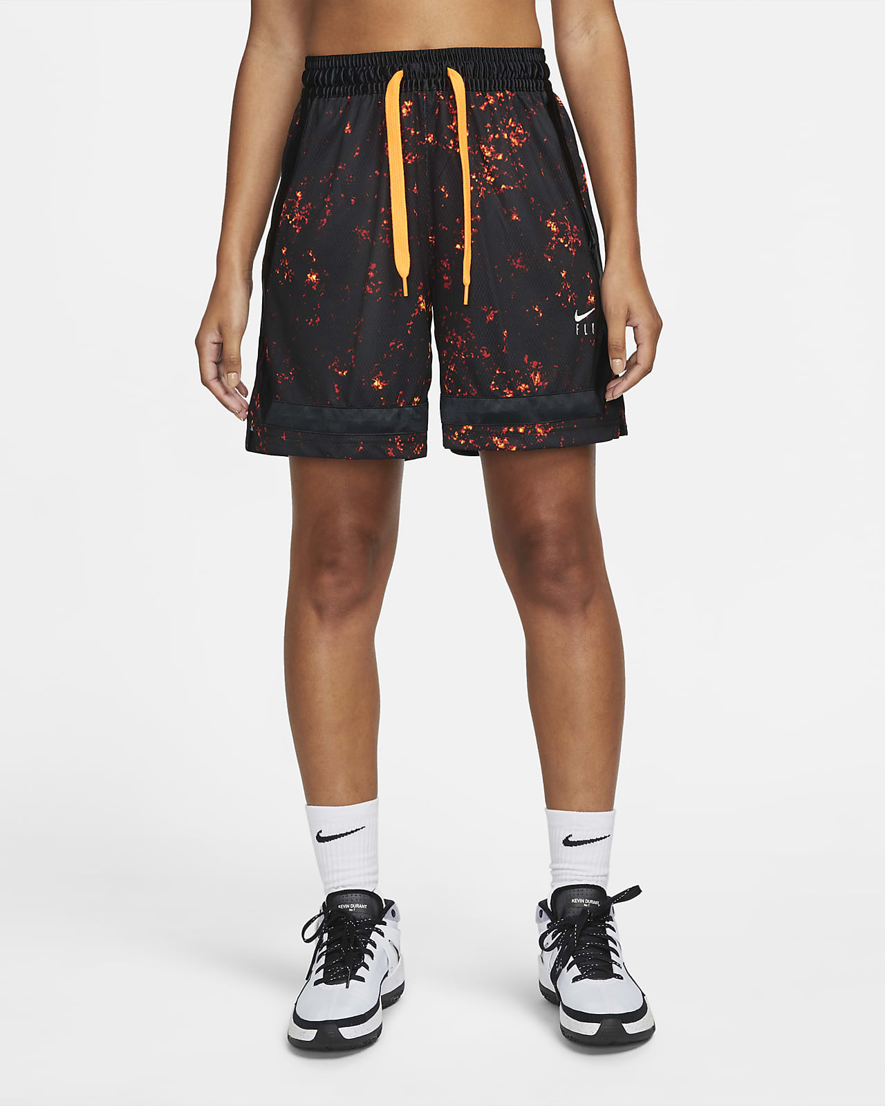 Nike Fly Crossover basketbalshorts voor dames