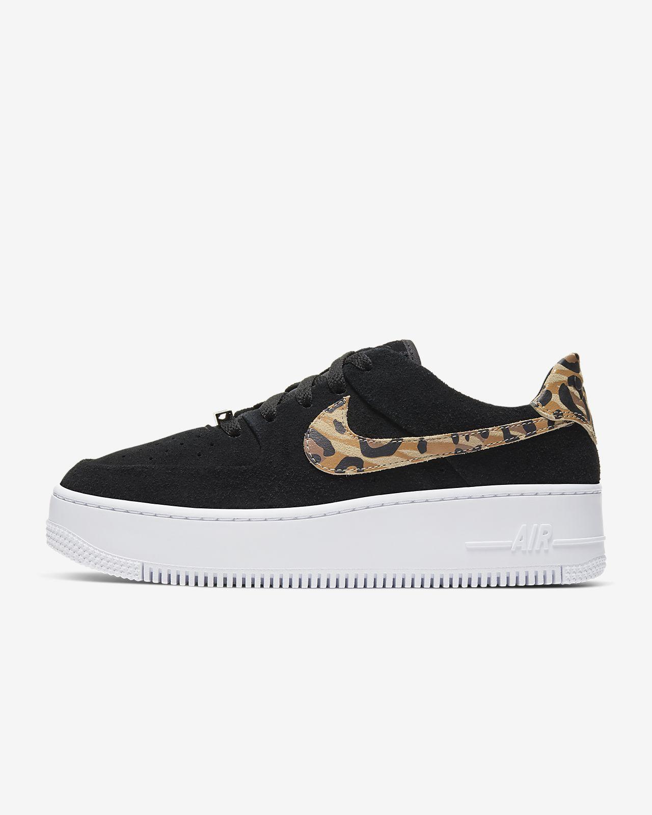 Nike Air Force 1 Sage Low Women's Animal Print Shoe