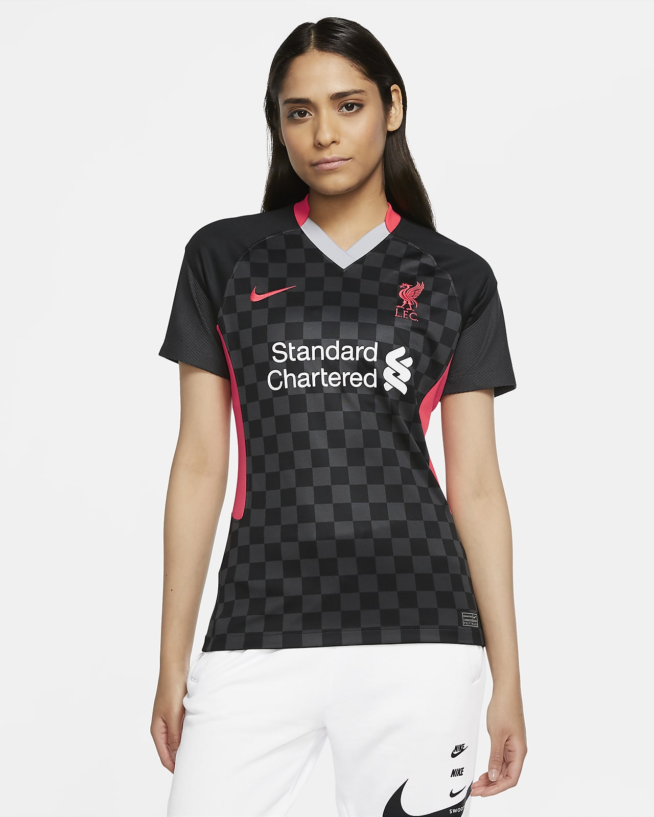 Liverpool FC 2020/21 Stadium Third Damen-Fußballtrikot