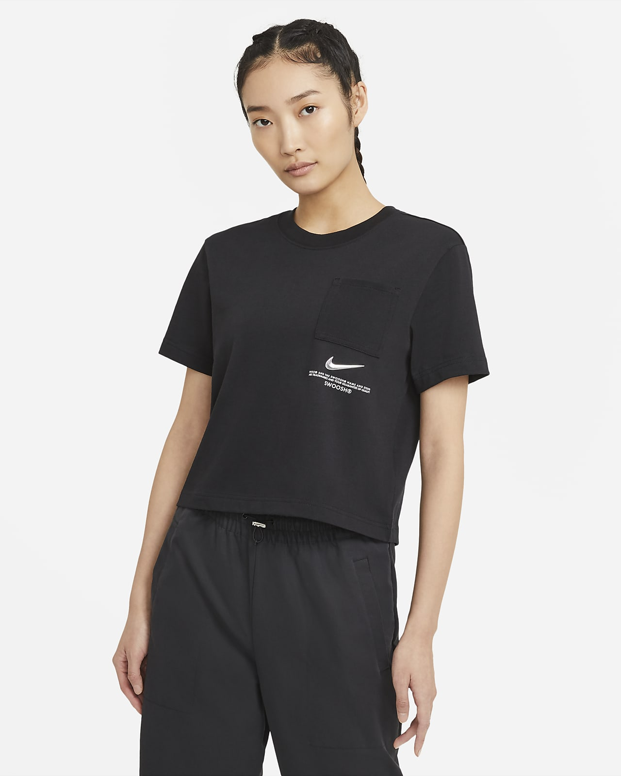Nike Sportswear Swoosh Women's Short-Sleeve Top