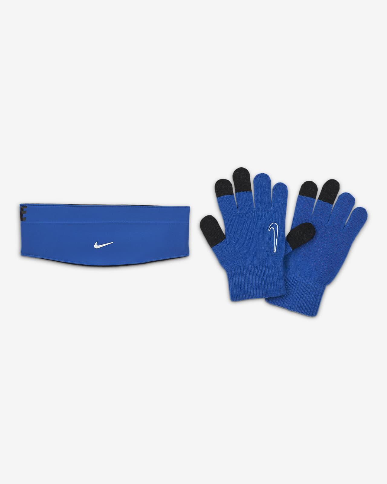 Nike HyperStorm Kids' Headband and Gloves Set