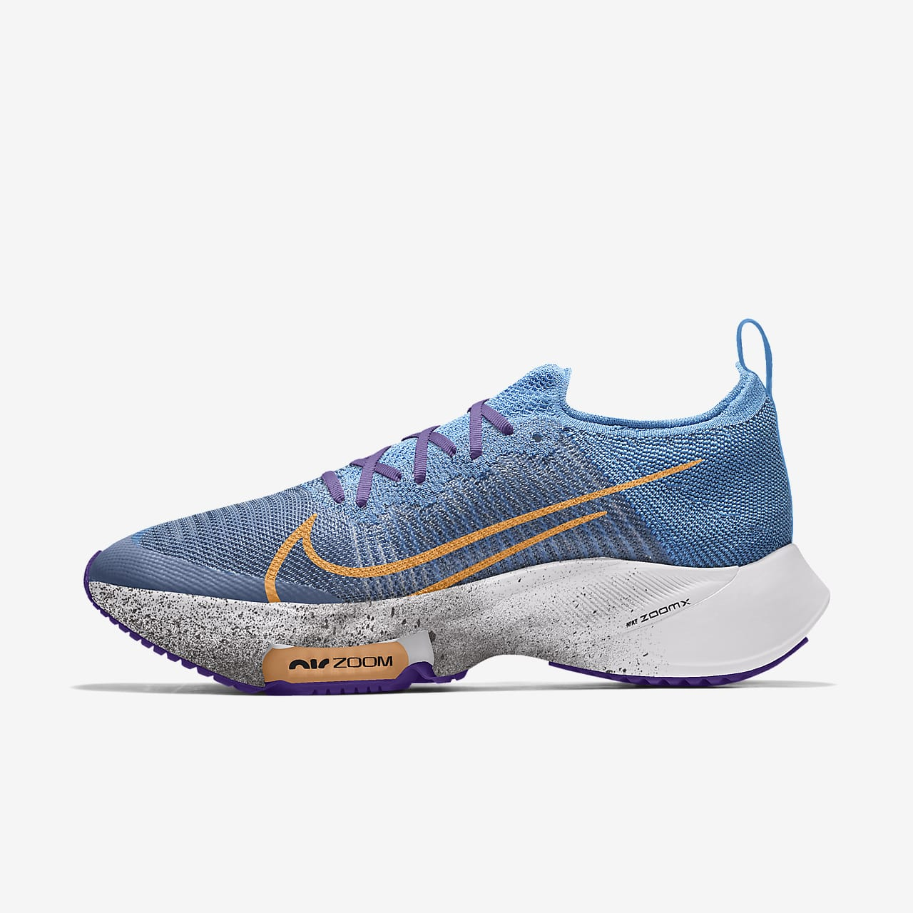 Nike Air Zoom Tempo Next% Flyknit By You Custom Running Shoe