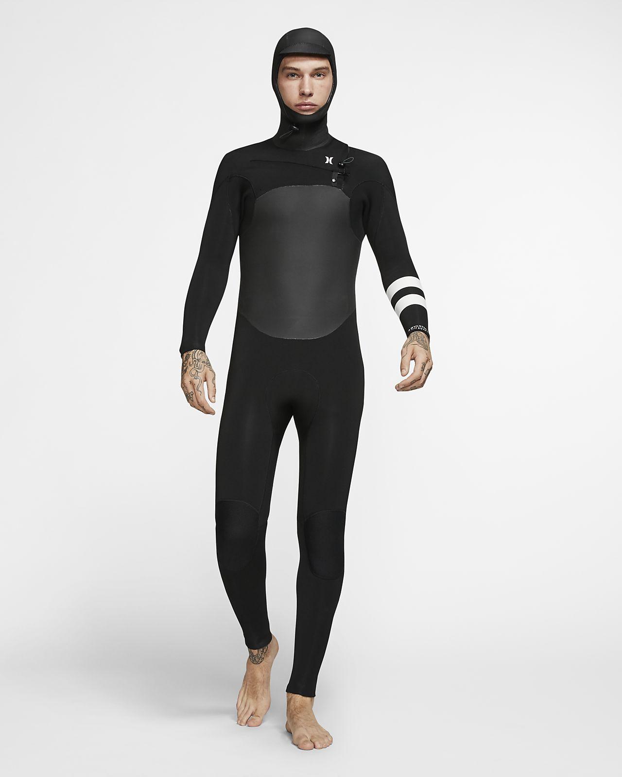 Hurley Advantage Plus 5/3mm Fullsuit Men's Hooded Wetsuit
