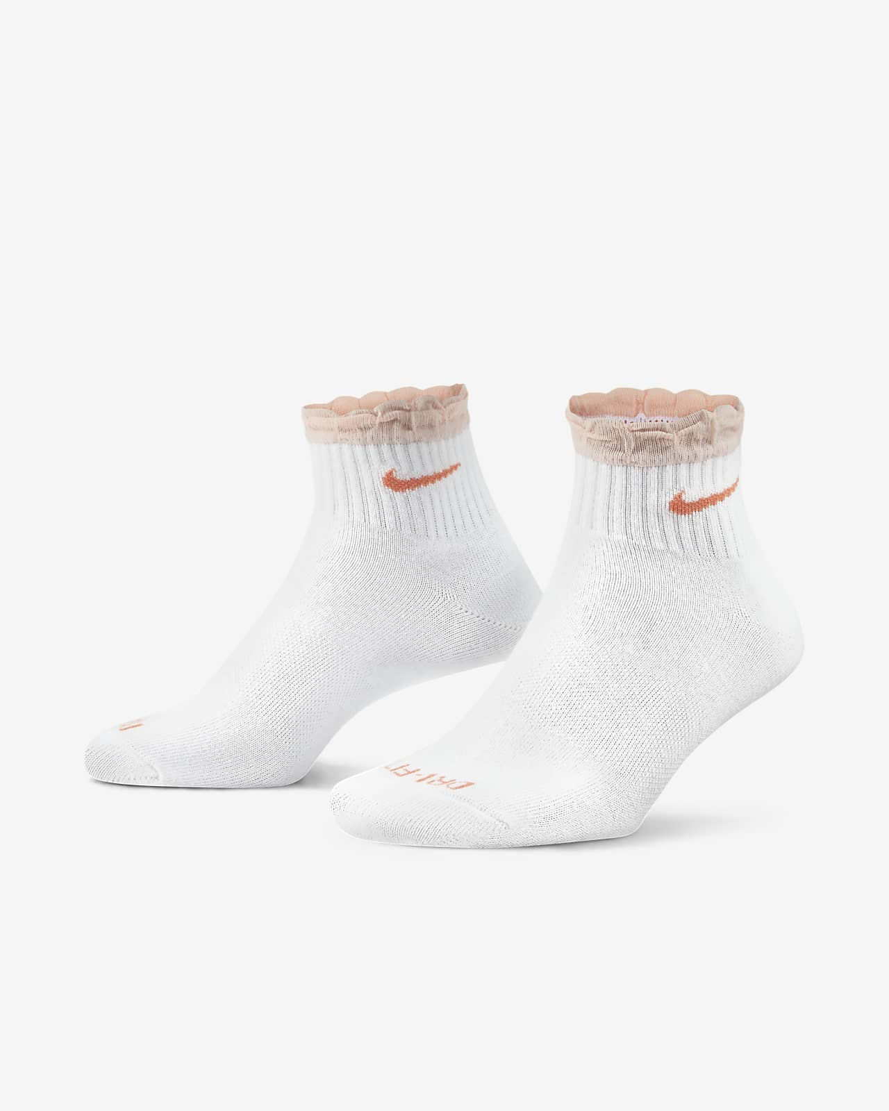 Γυναικείες κάλτσες προπόνησης μέχρι τον αστράγαλο Nike Everyday