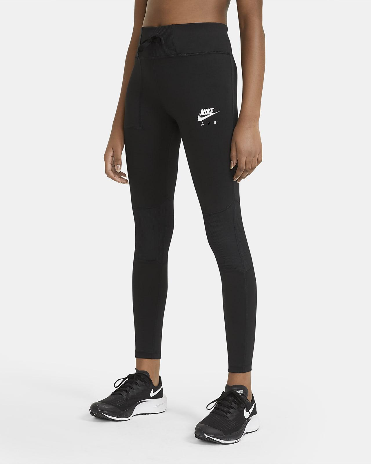 Legginsy treningowe dla dużych dzieci (dziewcząt) Nike Air