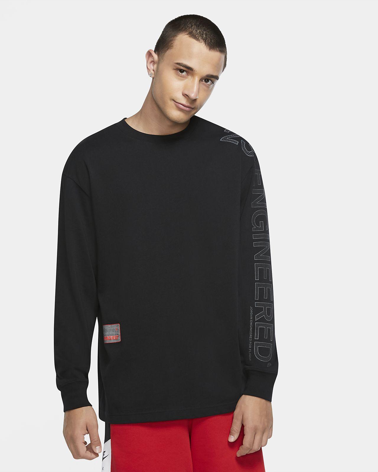 Långärmad tröja med rund hals Jordan 23 Engineered för män