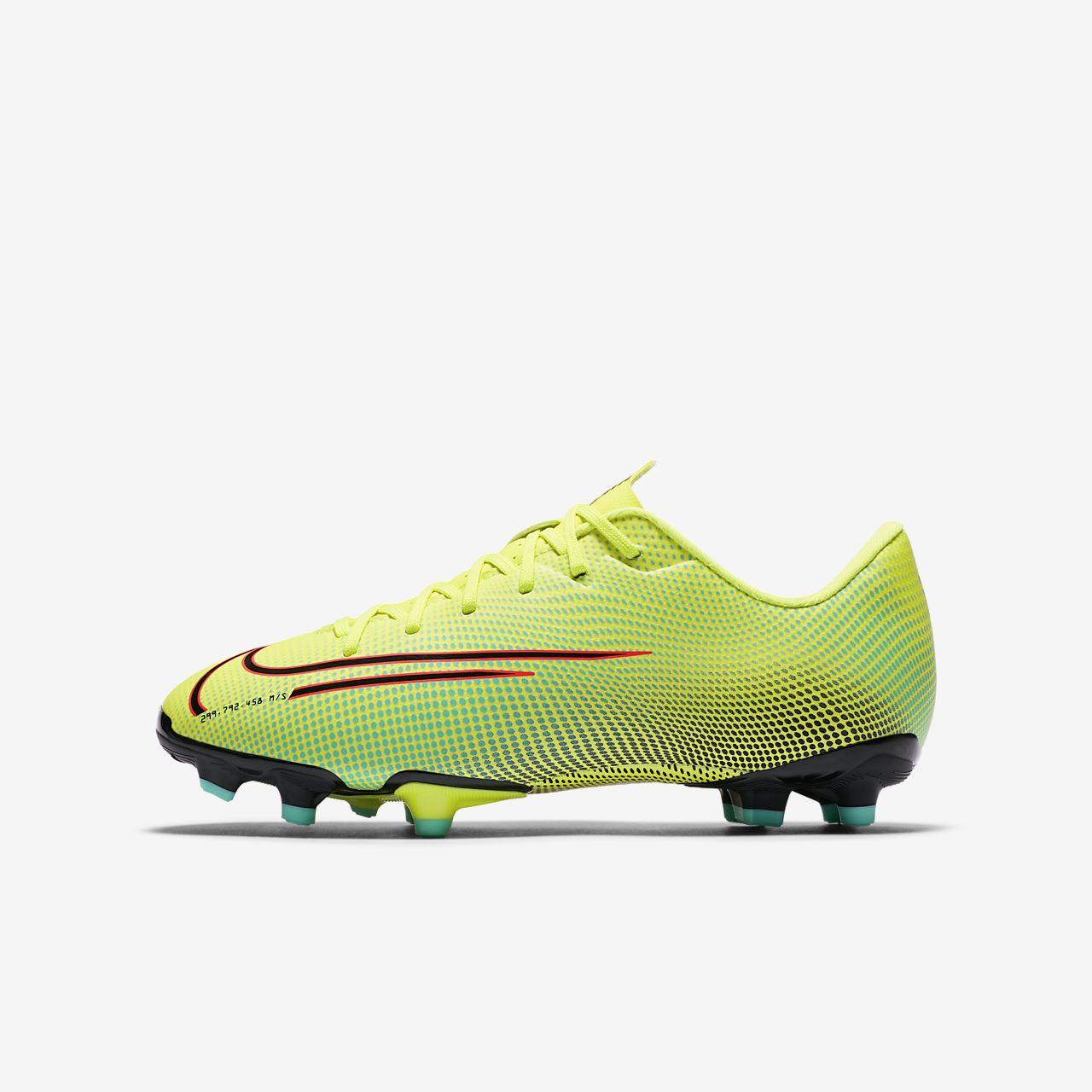 Nike Jr. Mercurial Vapor 13 Academy MDS MG Fußballschuh für verschiedene Böden für jüngereältere Kinder