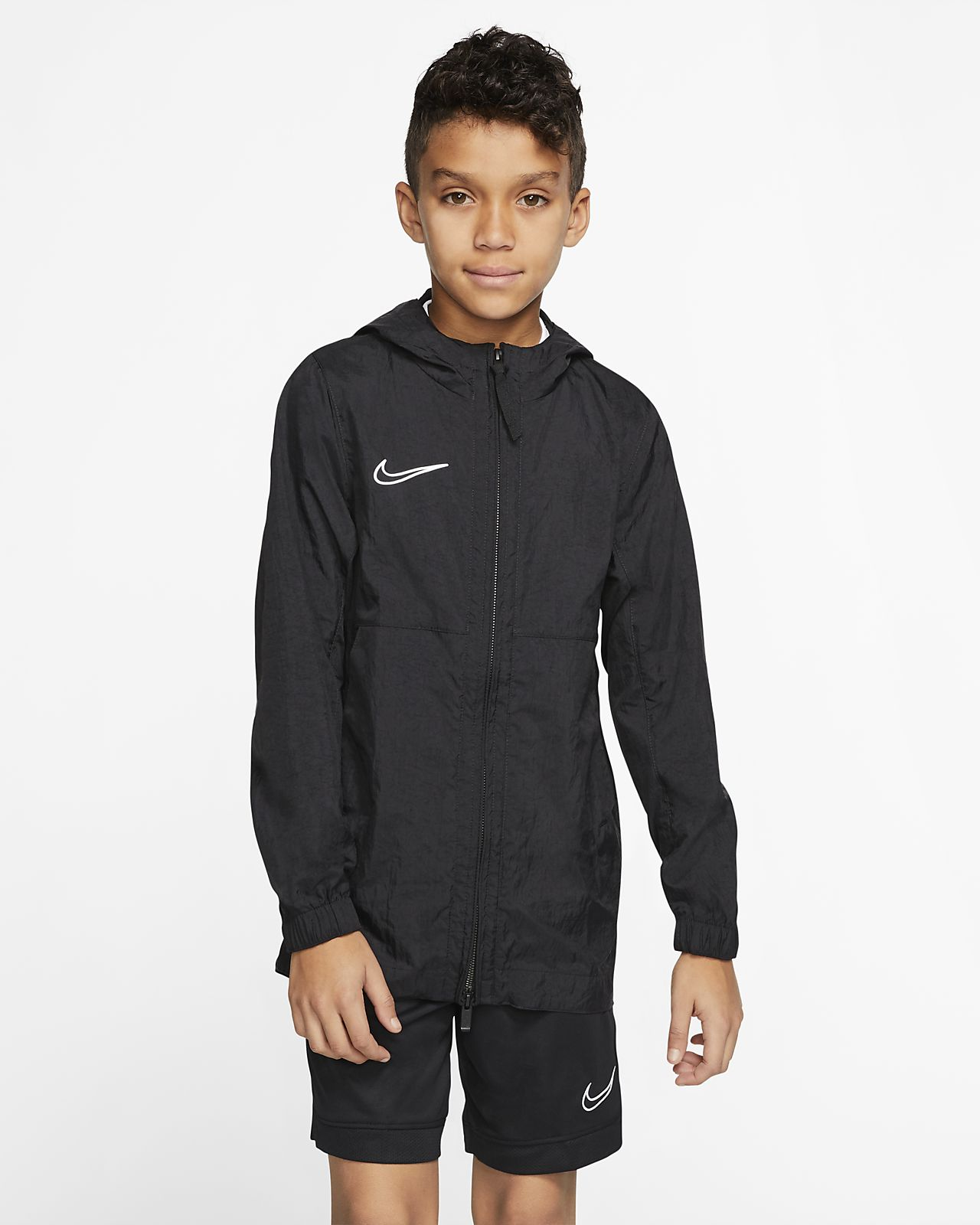 Nike Dri-FIT Academy Big Kids' Soccer Rain Jacket