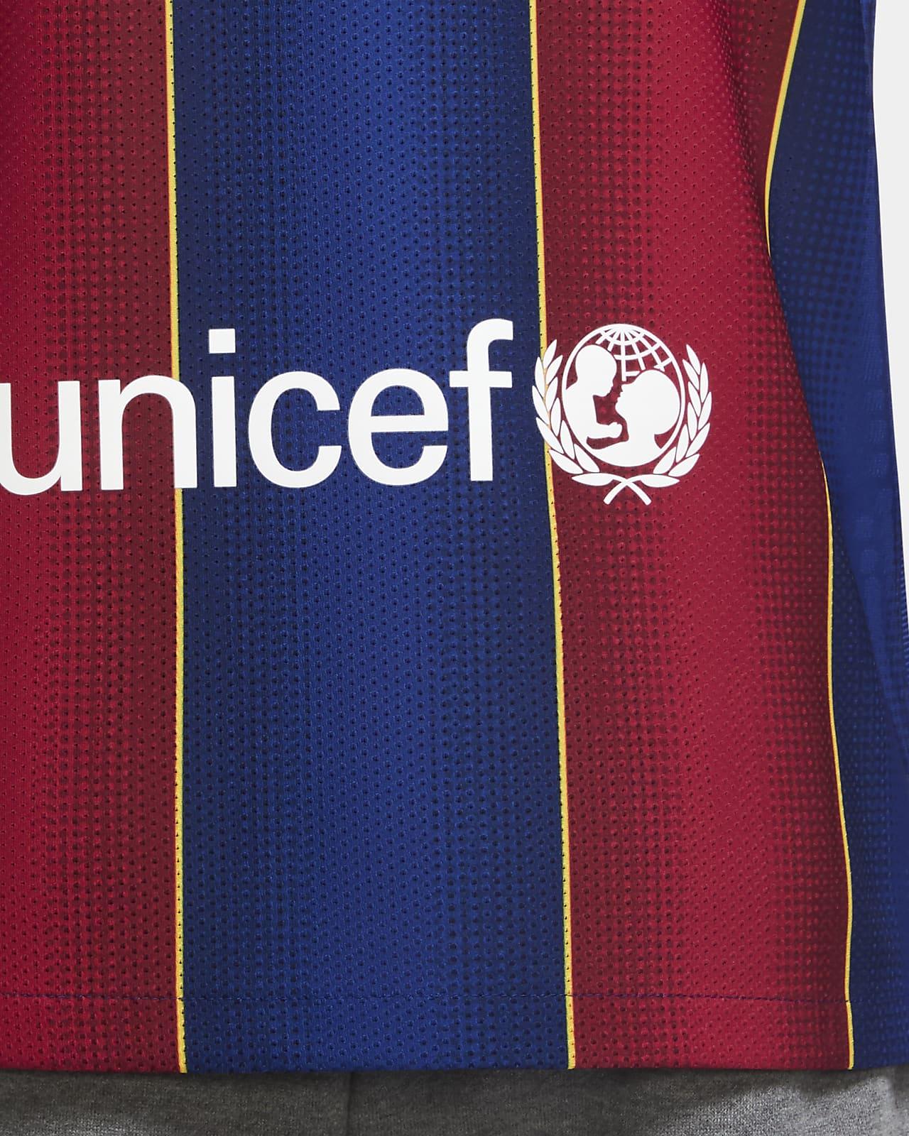 FC Barcelona 202021 Vapor Match Thuis Voetbalshirt voor heren