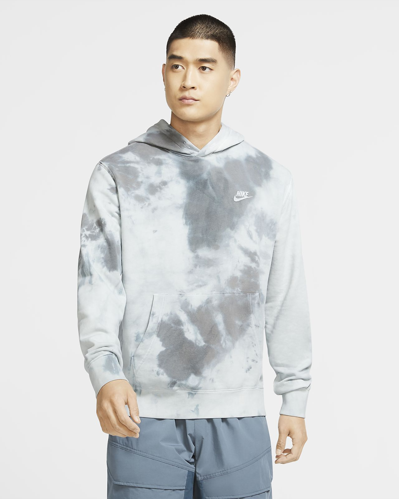 Nike Sportswear Hoodie Im Batik-Design. Nike AT