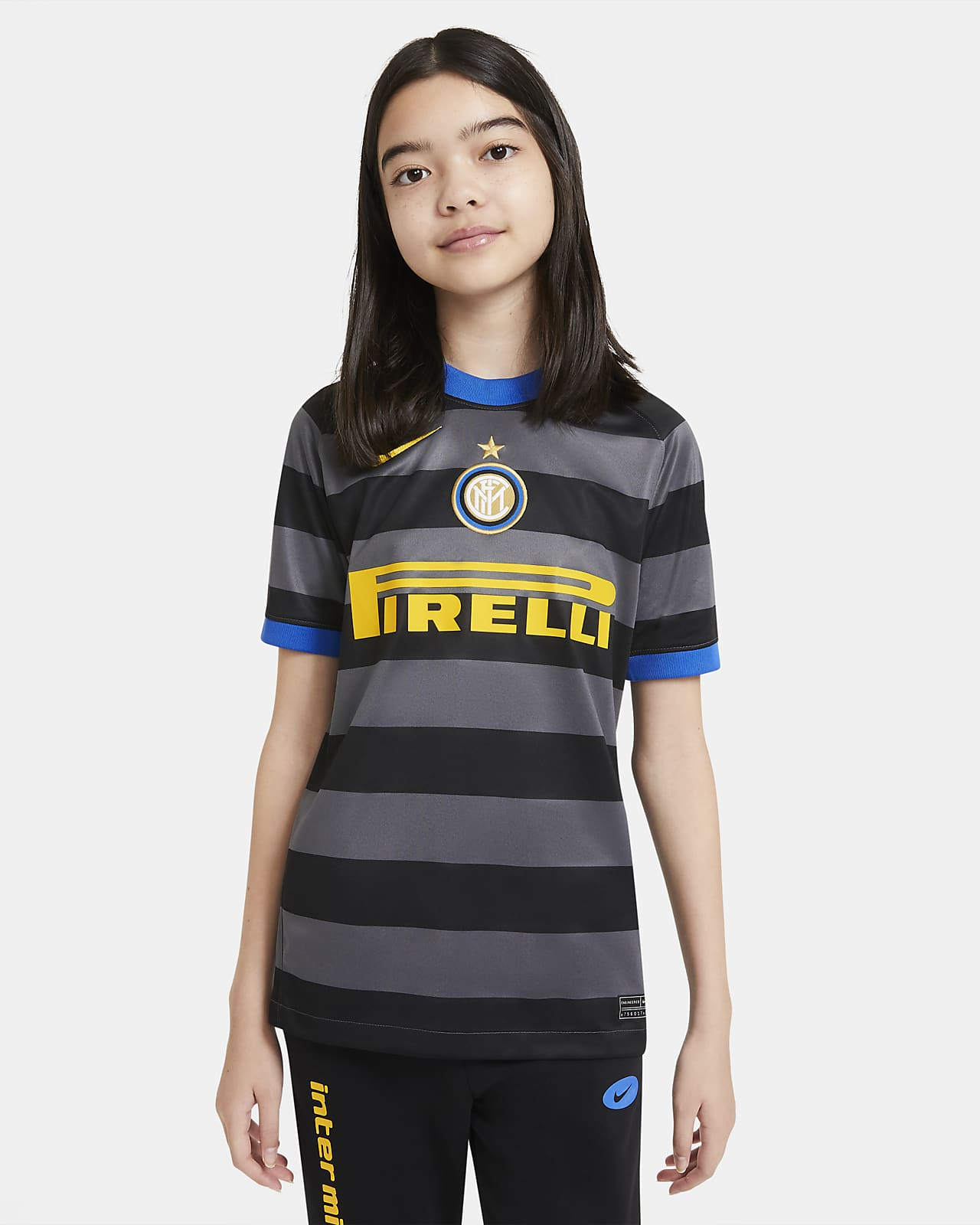 Inter Milan 2020/21 Stadium Third Big Kids' Soccer Jersey
