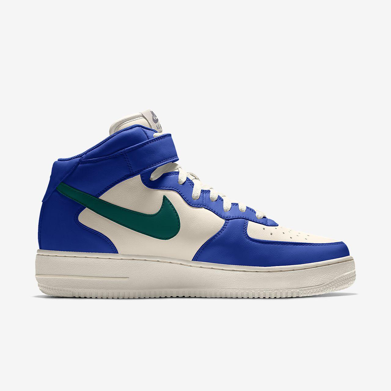 Nike Air Force 1 Mid By You Custom sko til kvinder
