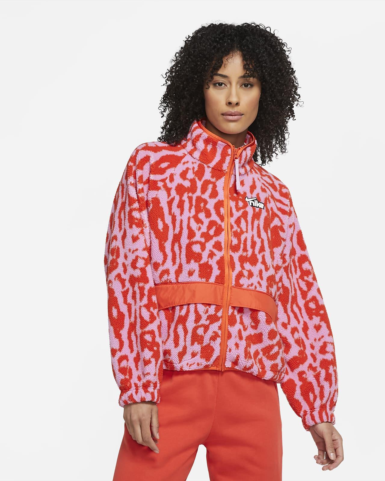Jacka Nike Sportswear i sherpamaterial för kvinnor