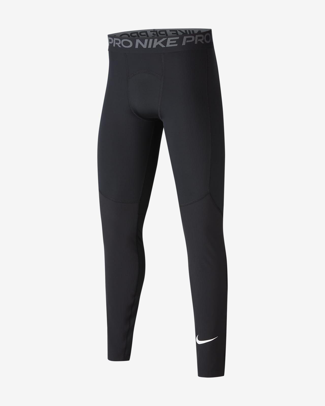 Nike Pro-tights til store børn (drenge)