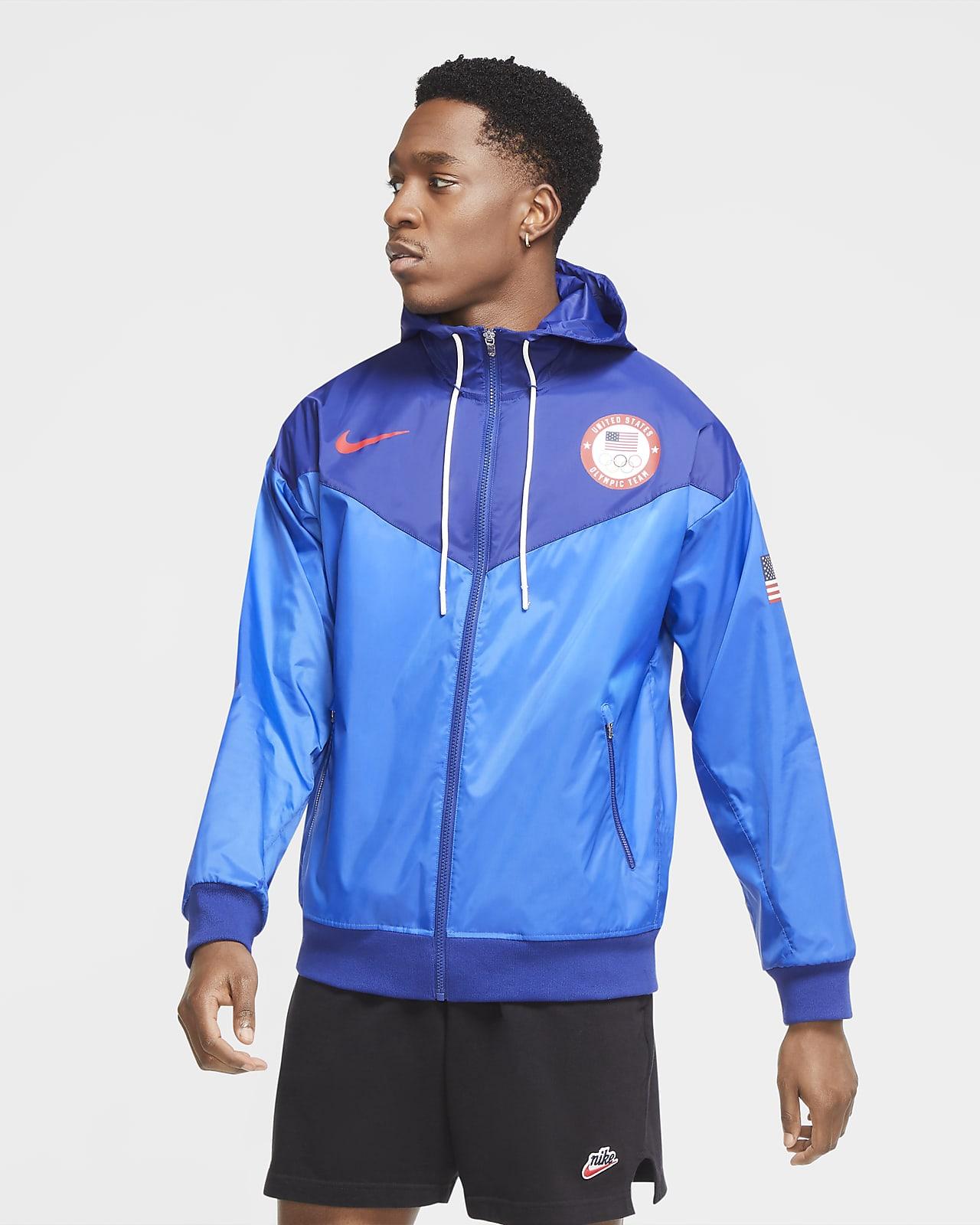 Nike Sportswear Team USA Windrunner Men's Woven Hooded Jacket