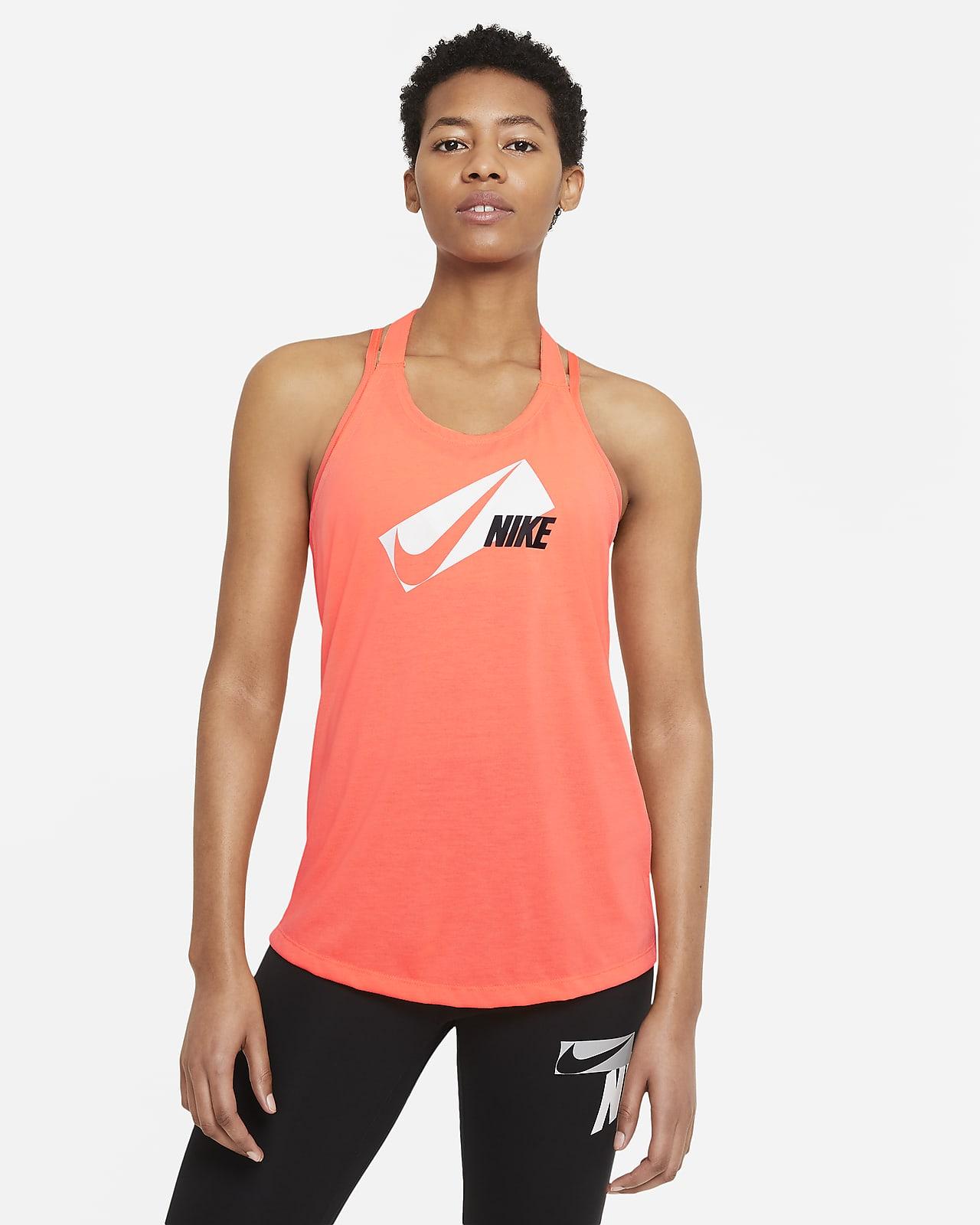 Nike Dri FIT Elastika Samarreta de tirants estampada d'entrenament - Dona