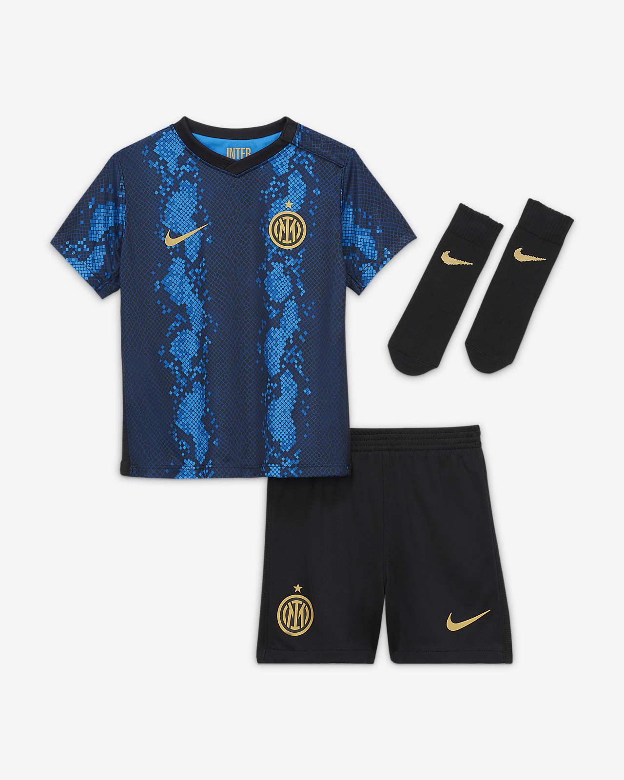 Divisa da calcio Inter 2021/22 per neonati/bimbi piccoli - Home