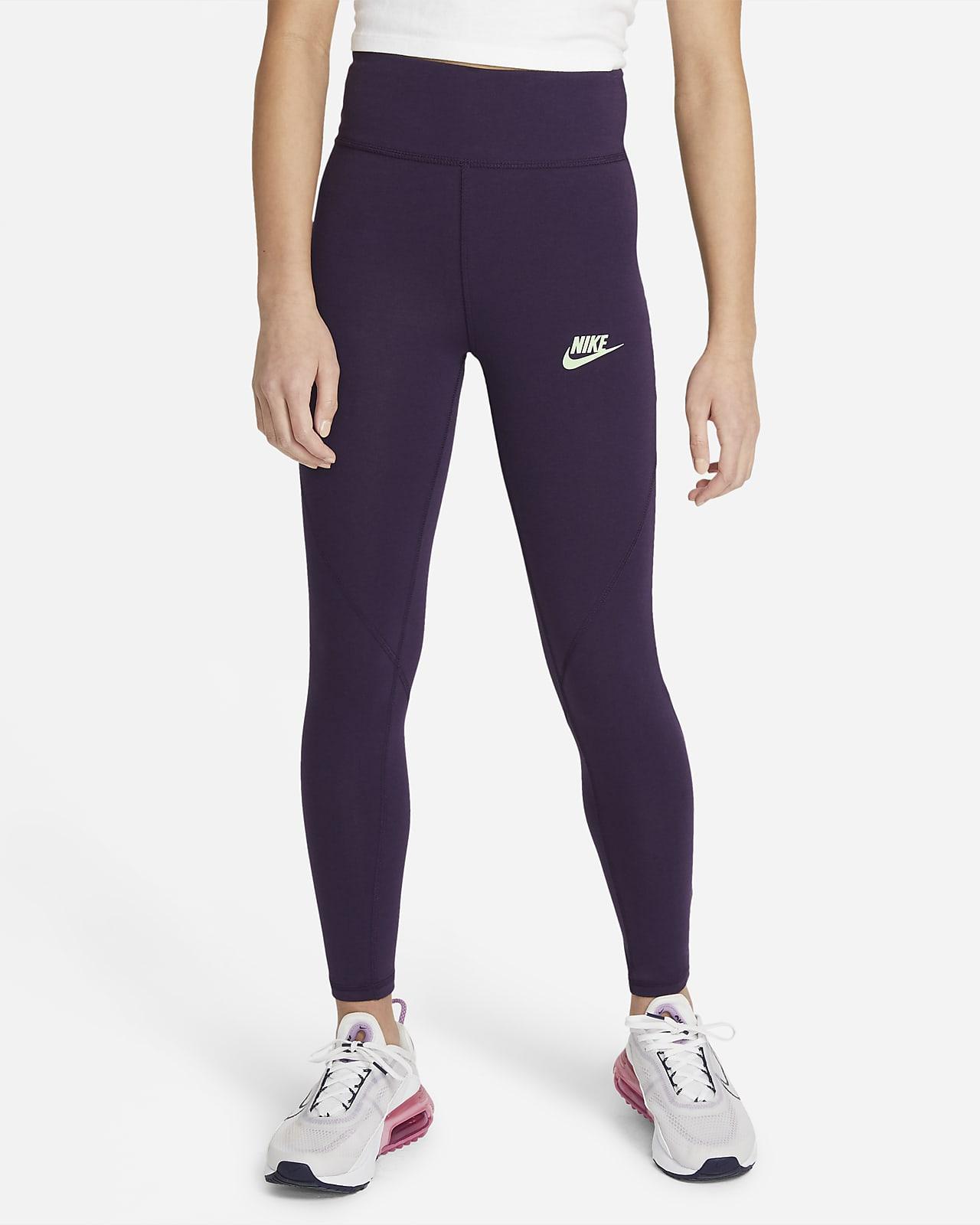 Leggings de cintura alta para niñas talla grande Nike Sportswear Favorites