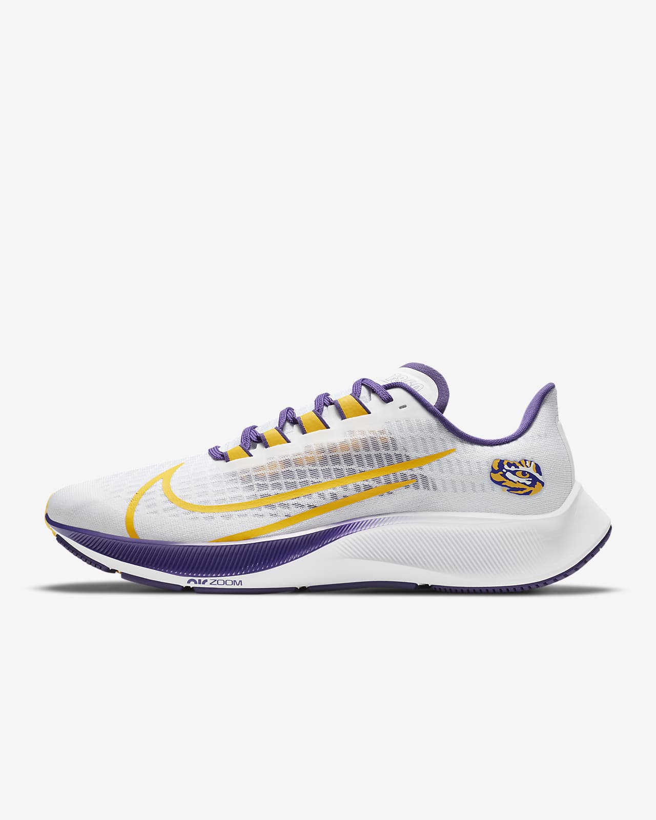 Nike College Zoom Pegasus 37 (LSU) Running Shoe
