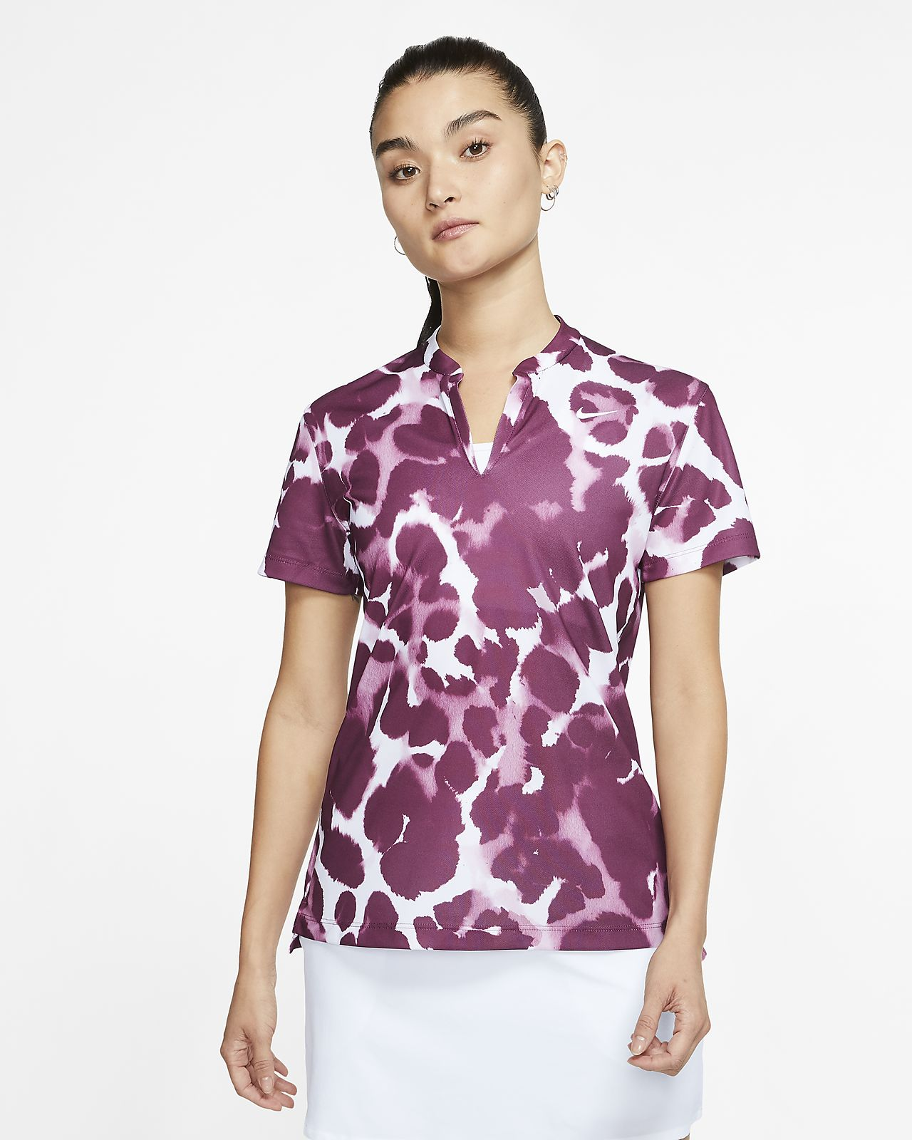 nike polo dri fit womens