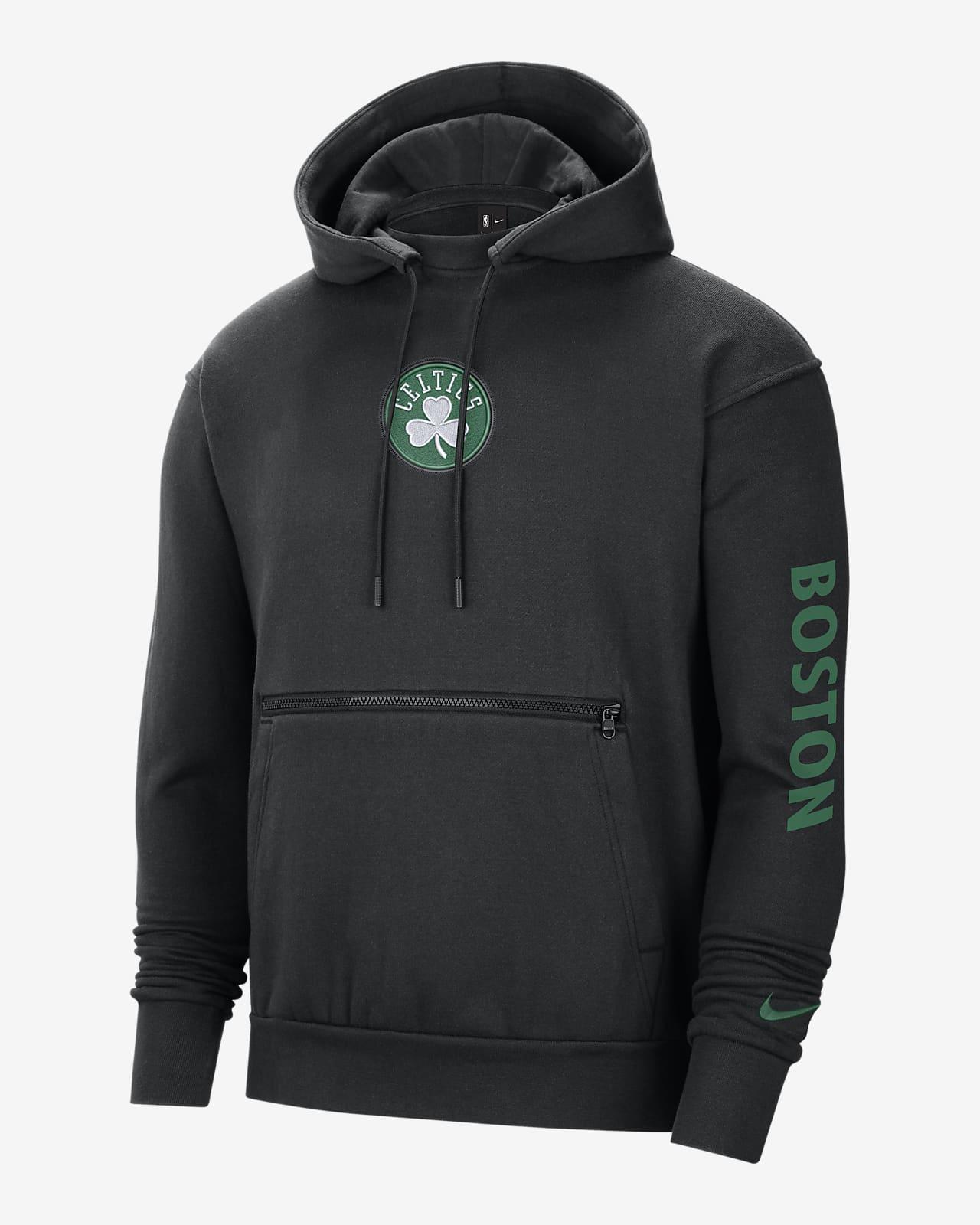 Boston Celtics Courtside Men's Nike NBA Pullover Hoodie