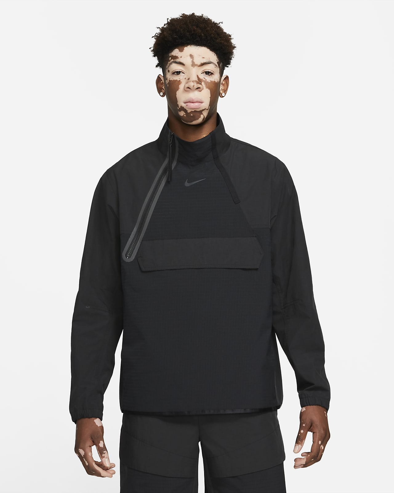 Giacca in tessuto con zip a metà lunghezza Nike Sportswear Tech Pack - Uomo