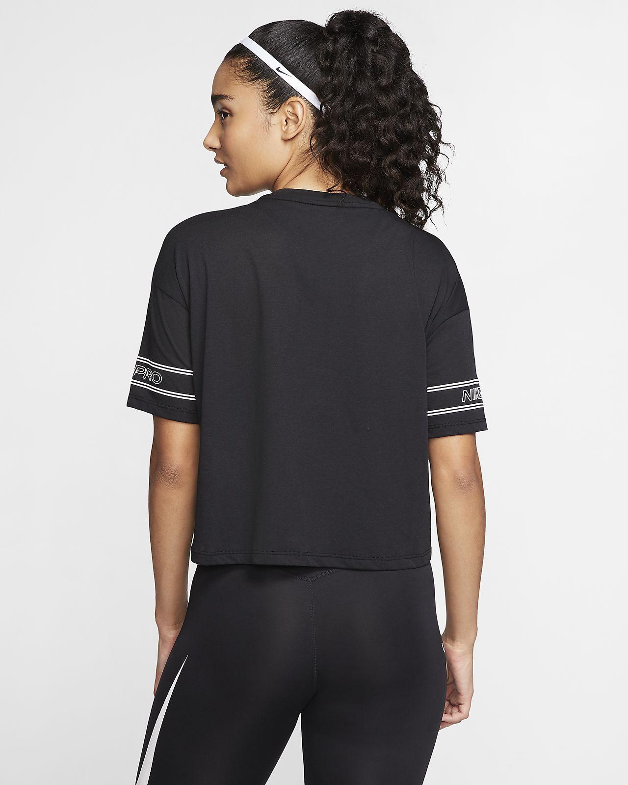 Nike Pro illusztrált, rövid ujjú női felső. Nike HU