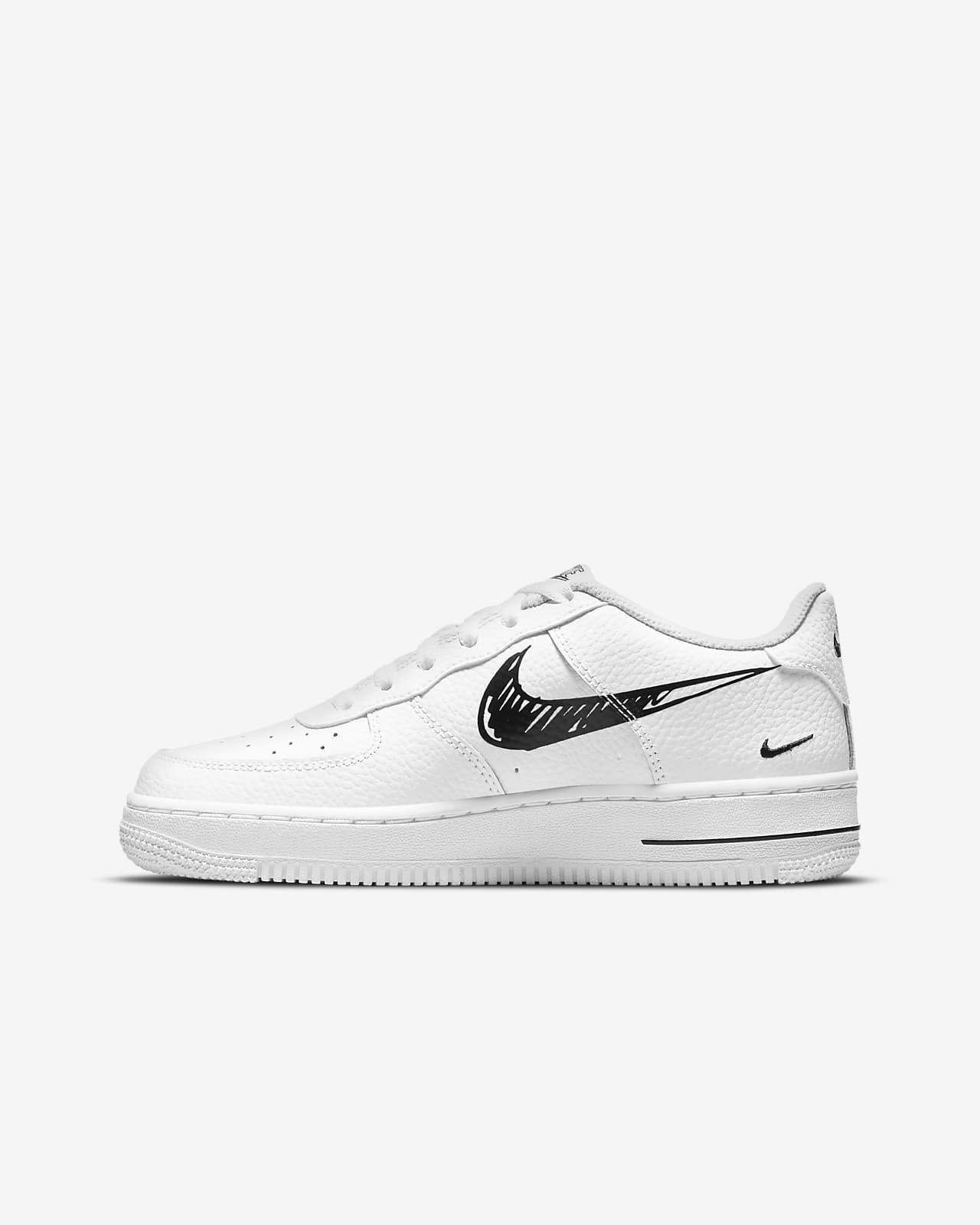 Calzado para niños talla grande Nike Air Force 1 Low