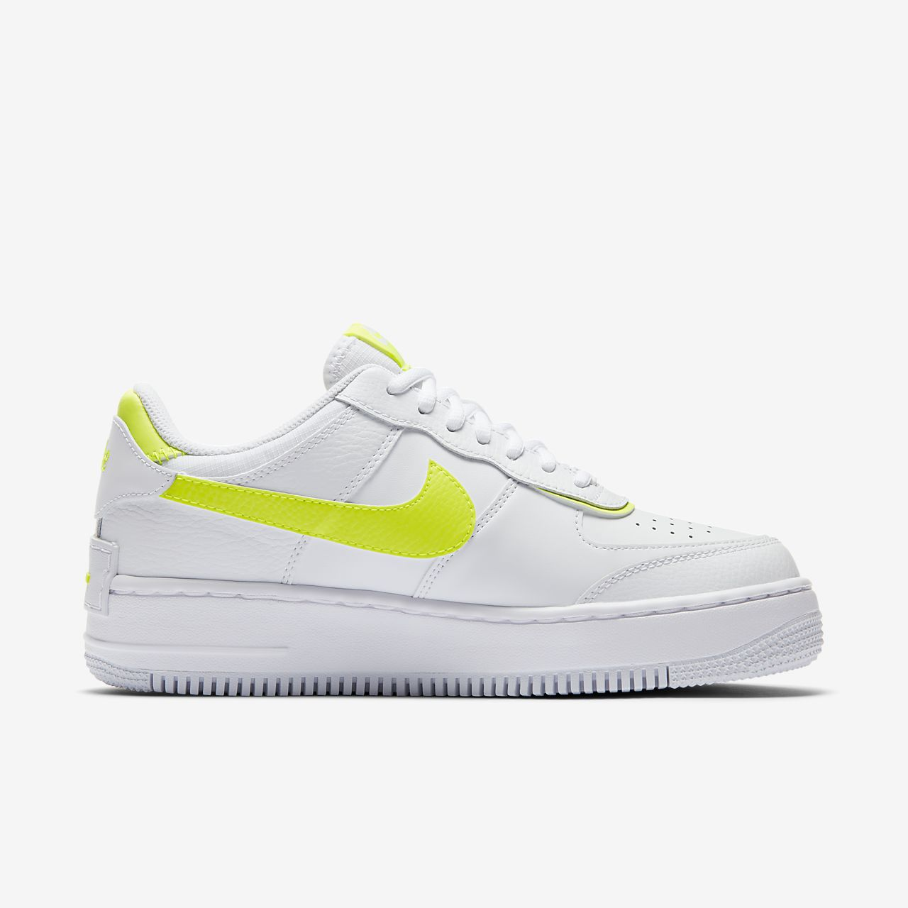air force 1 shadow femme blanc