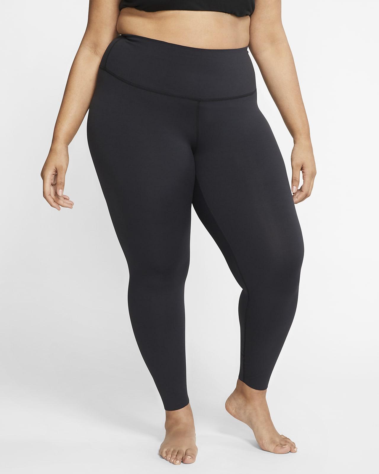 Nike Yoga Luxe-Infinalon-leggings i 7/8-længde og høj talje (plus size) til kvinder