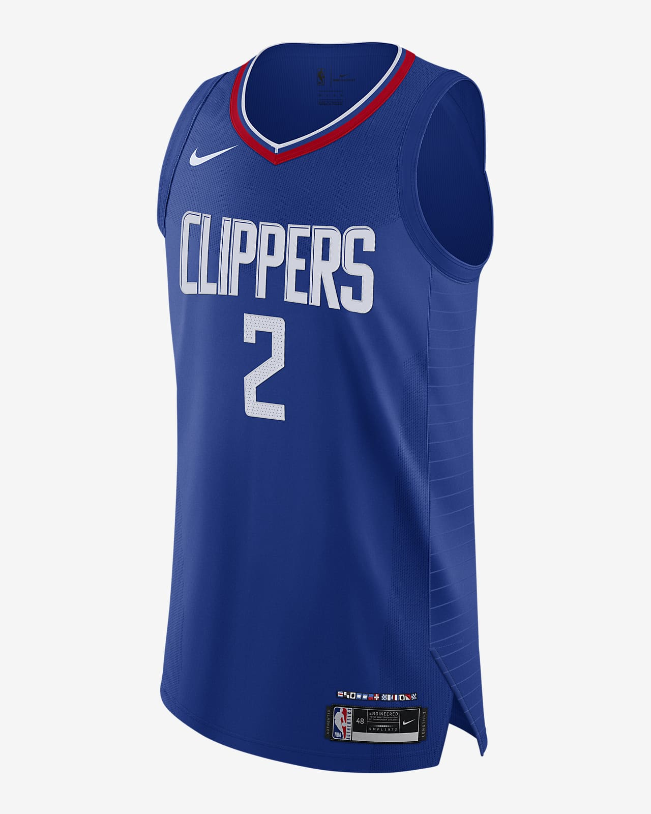 Kawhi Leonard Clippers Icon Edition 2020 Nike NBA Authentic Jersey