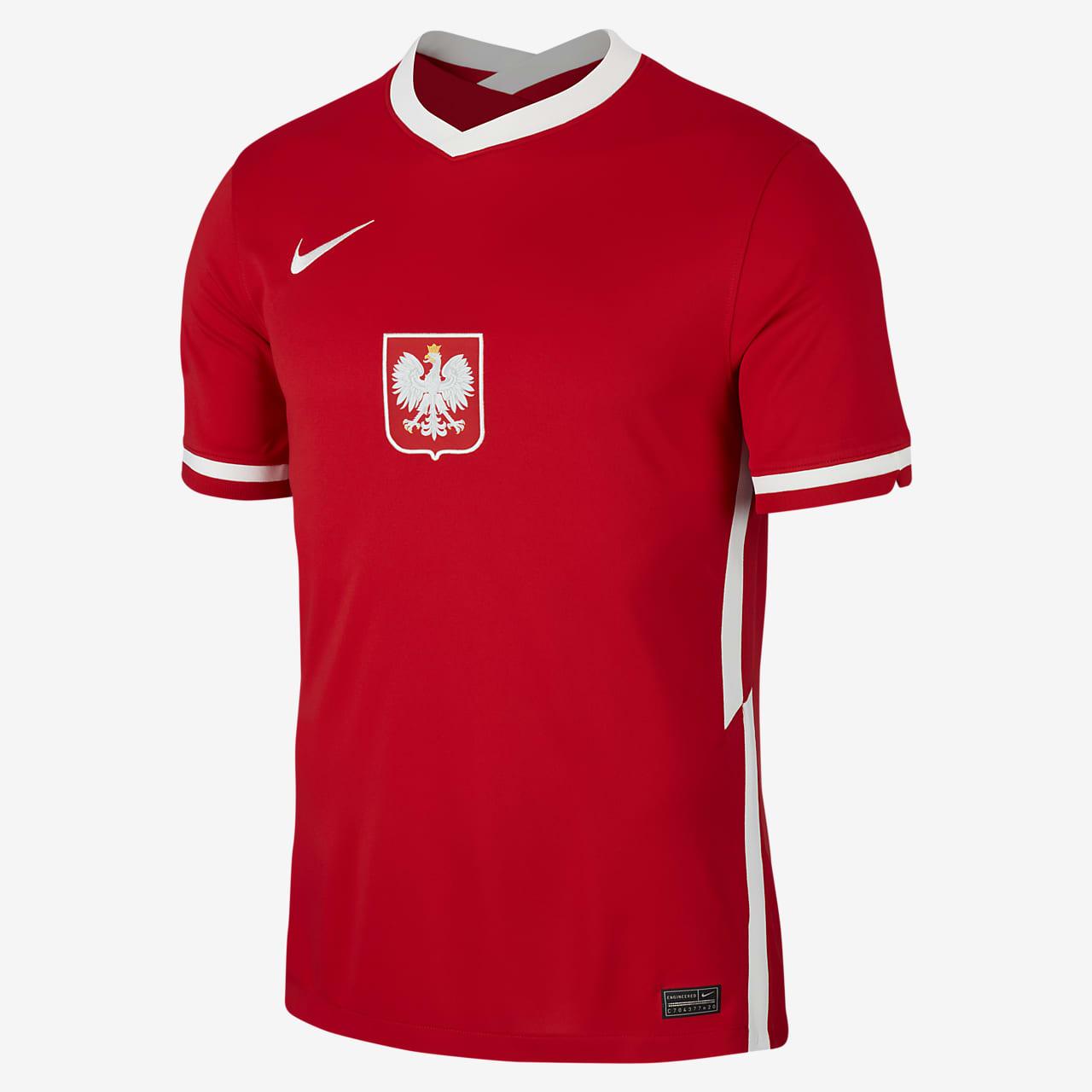 Camiseta de fútbol para hombre Poland 2020 Stadium Away