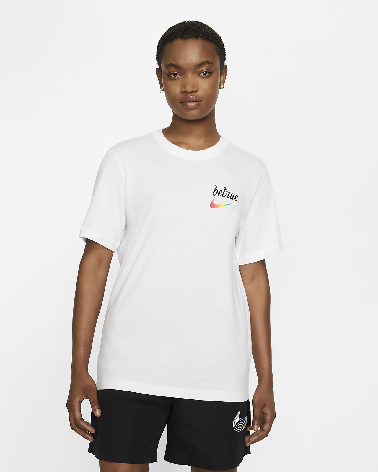 เสื้อยืดผู้ชาย Nike Sportswear Be True